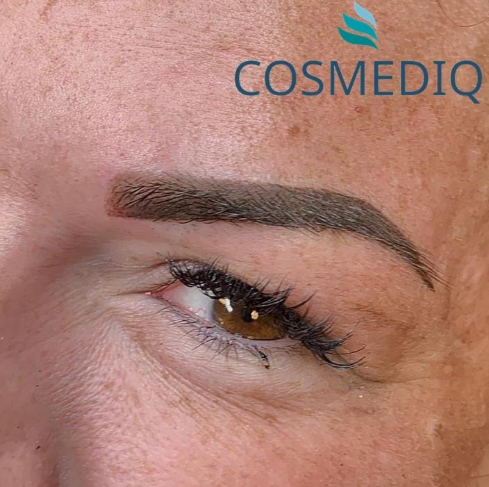 cosmediq permanente make up wenkbrauwen