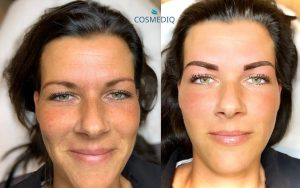 cosmediq wenkbrauwen permanente make up